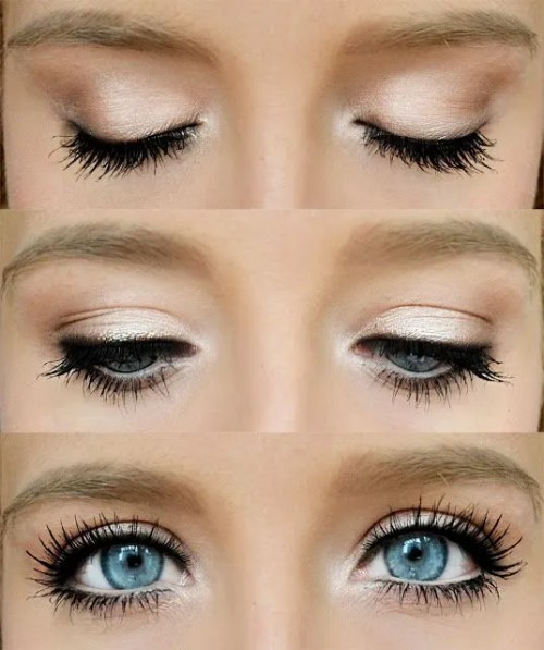 Wedding Makeup Ideas For Blue Eyes: 26 Easy Makeup Tutorials For Blue Eyes