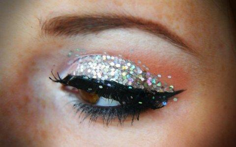 Pretty Shimmer Eye Makeup