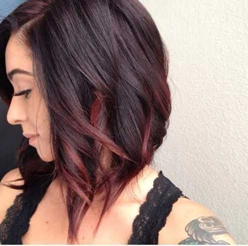 Short Red Ombre Hair