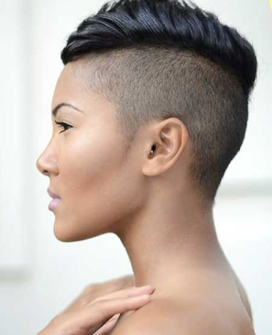 Super Short Mohawk Hairstyle