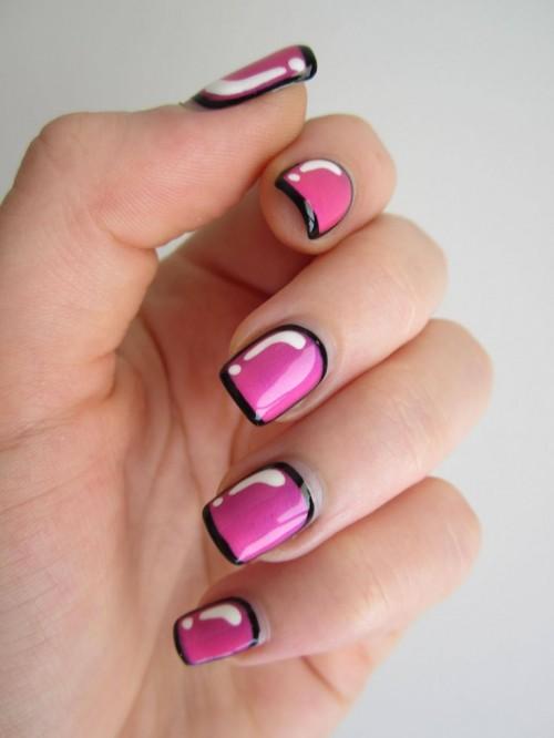 Cute Ic Nail Design