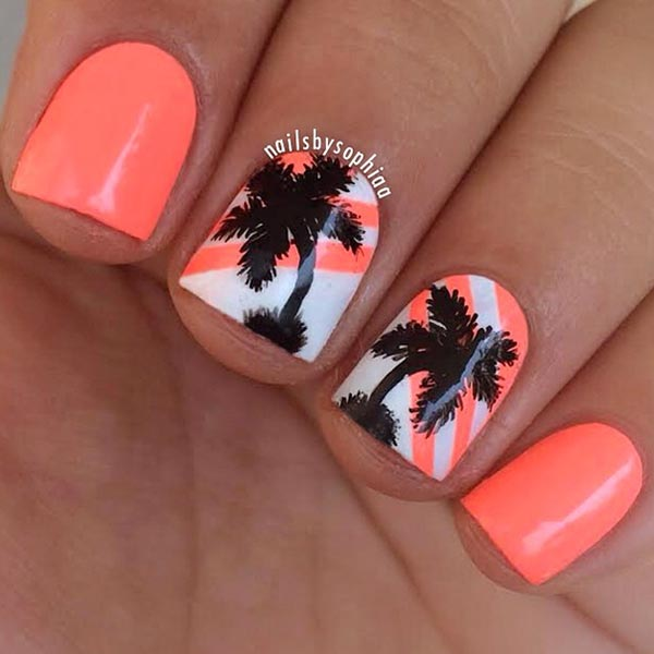 40 Simple Nail Designs For Short Nails Without Art Tools