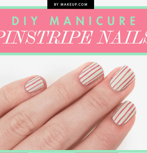 pinstripe nails