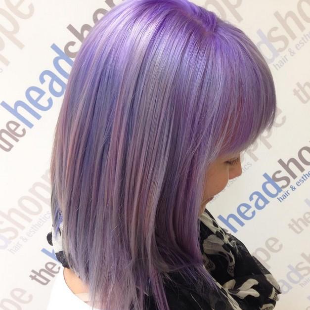 Hair Color Ideas 20 Gorgeous Pastel Purple Hairstyles