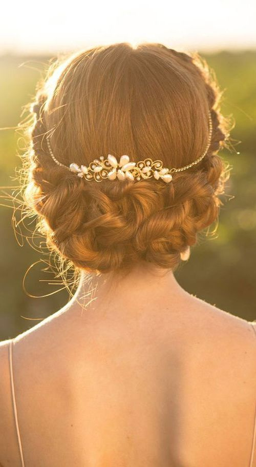Top 20 Fabulous Updo Wedding Hairstyles: 20 Fabulous Bridal Hairstyles For Long Hair