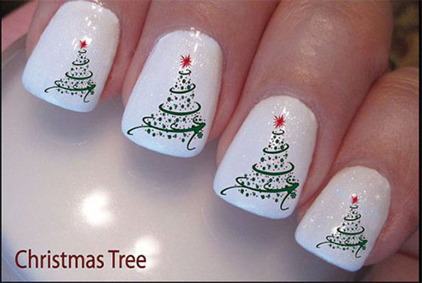21 Fabulous And Easy Christmas Nail Designs Crazyforus