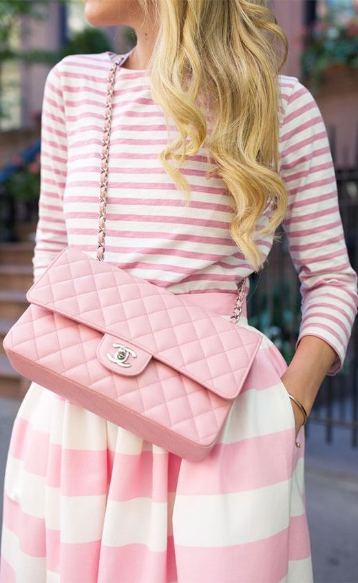 Stylish Way to Wear Pink This Summer