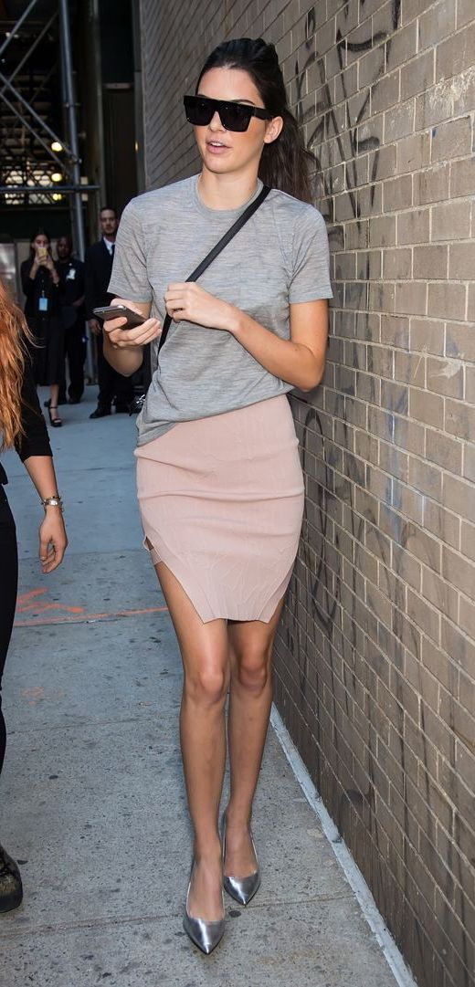 Kendall Jenner - Stylish Ways to Wear Pink This Summer