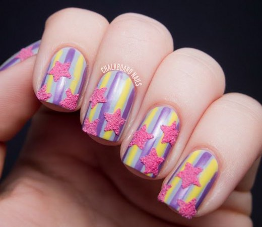 Stunning Star Nail Designs for Fashionistas
