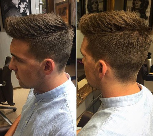 Hottest Short Haircuts For Guys The Cool Faux Hawk For