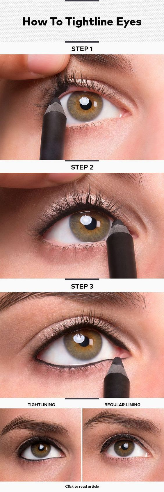 How To Smudge Your Eyeliner Amp Hottest Eyeliner Styles