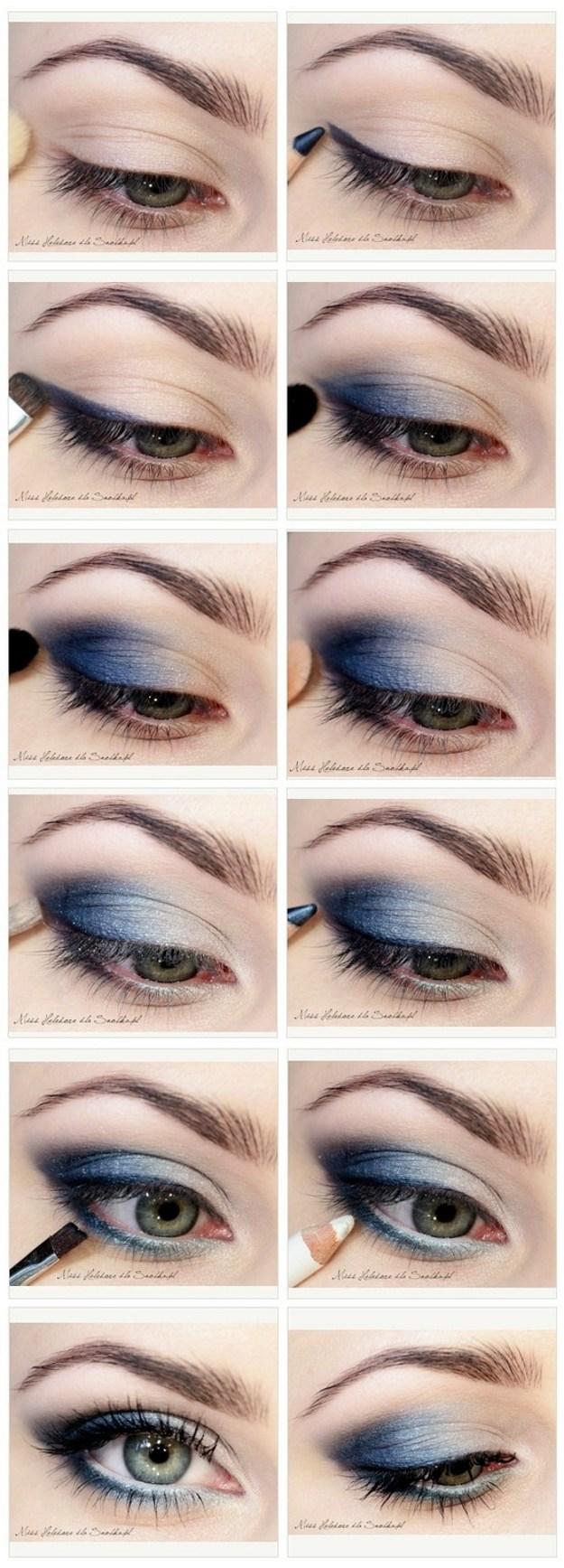 simple eye makeup tutorial for blue eyes | saubhaya makeup