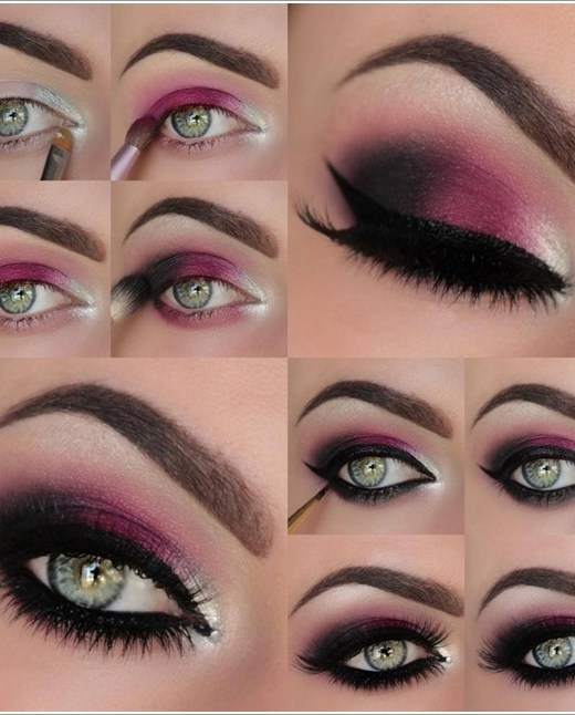 steps on how to put on eye makeup