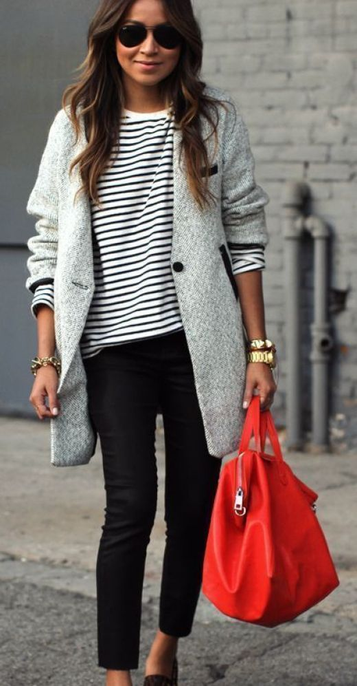 Patterned Trainers with Statement Coat