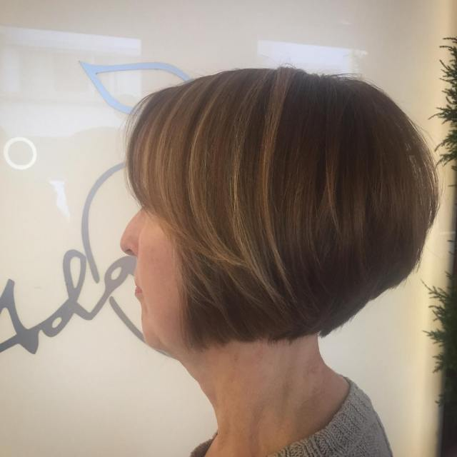 30 super-hot stacked bob haircuts: short hairstyles for