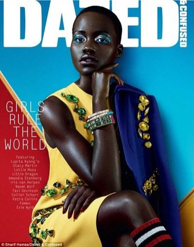 dazed cover Lupita Nyong