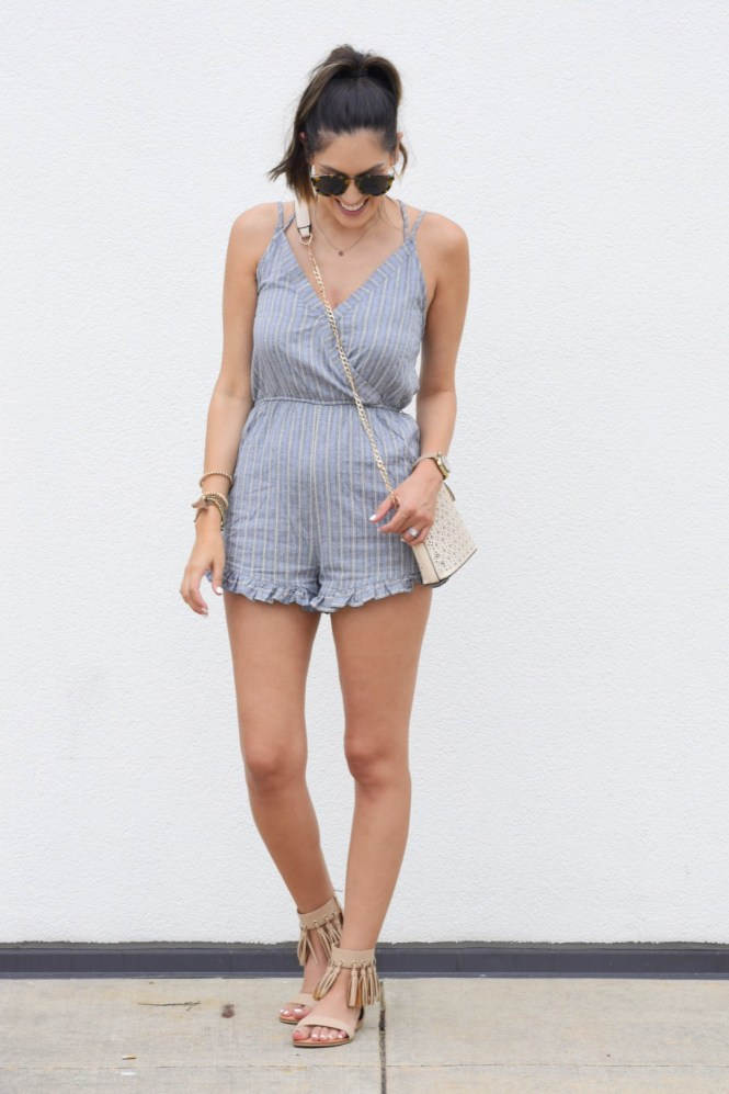 style the girl romper