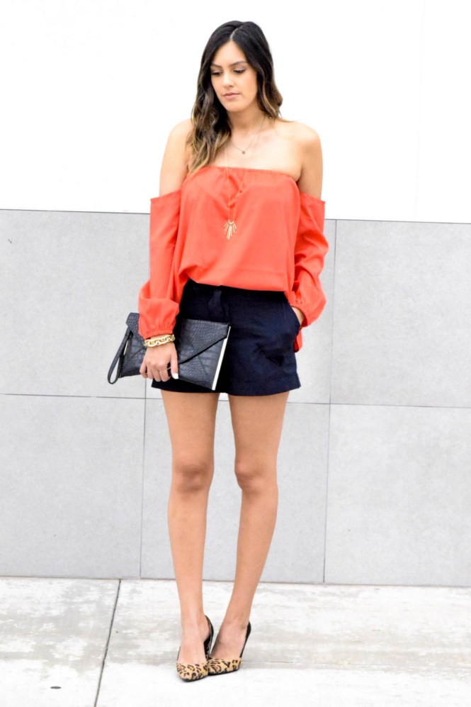 style the girl red top2