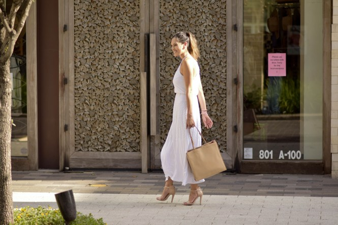 Style The Girl White Maxi Dress 3