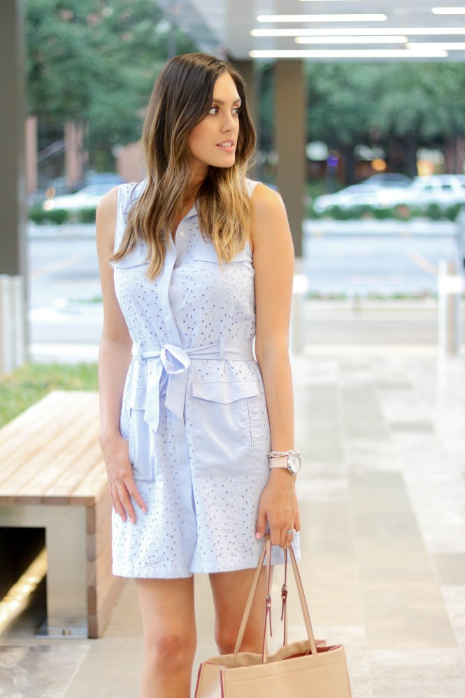 Style The Girl Blue Tie Dress 12