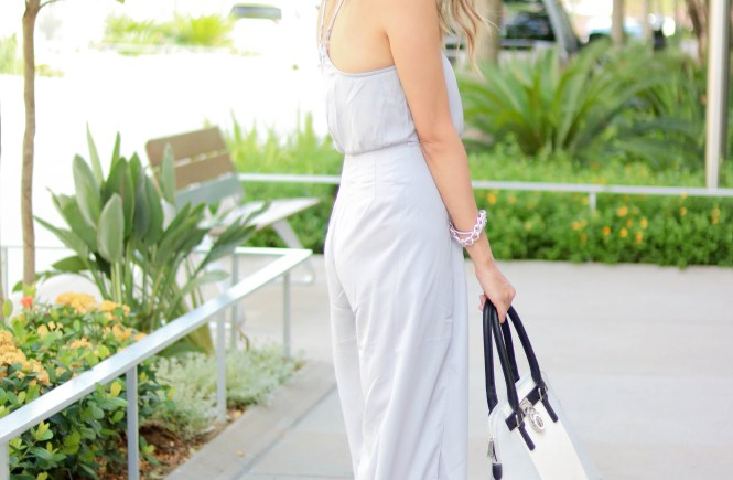 Style The Girl Grey Jumpsuit