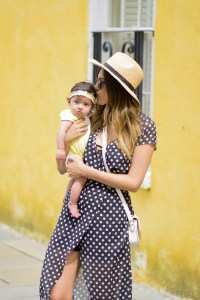 Style The Girl Polka Dot Dress