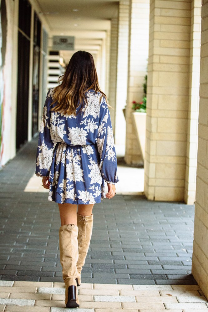 Free People Dress and OTK boots