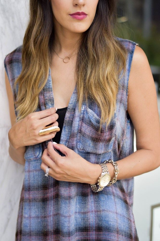 style-the-girl-flannel-tshirt-dress