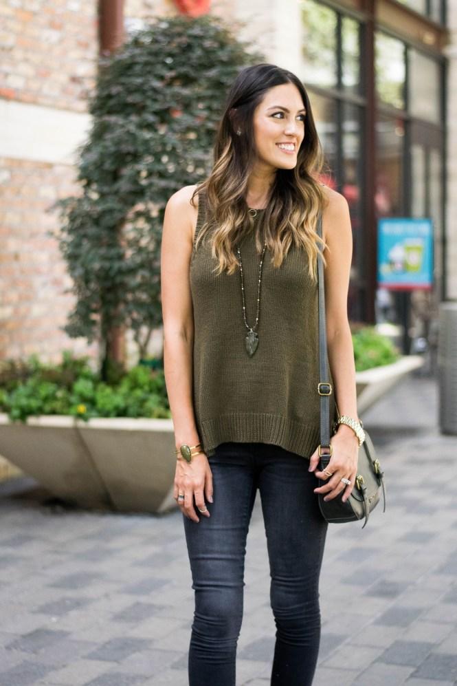 style-the-girl-green-sleeveless-sweater-3