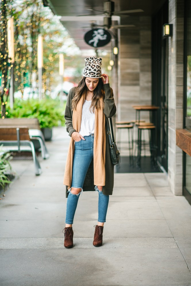 Style The Girl Leopard Beanie