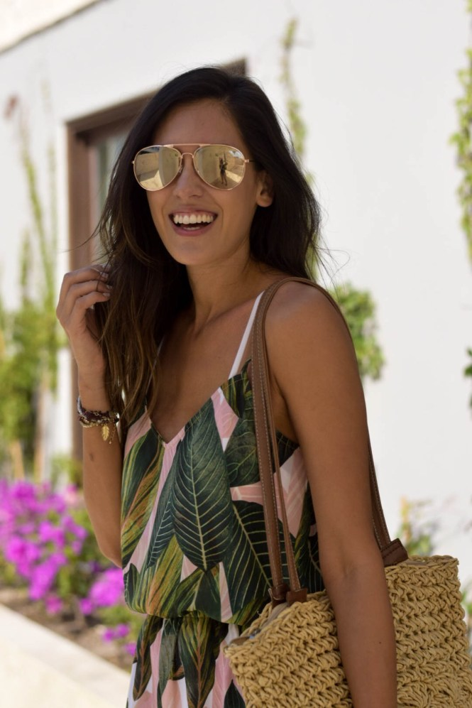 Style The Girl Tropical Romper