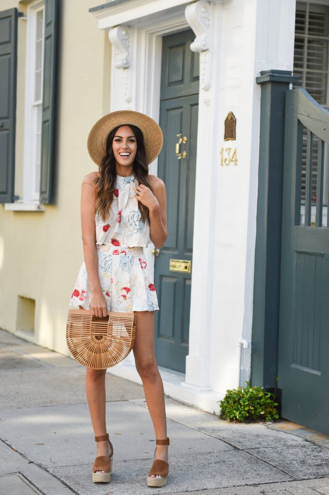 Style The Girl Floral Two Piece