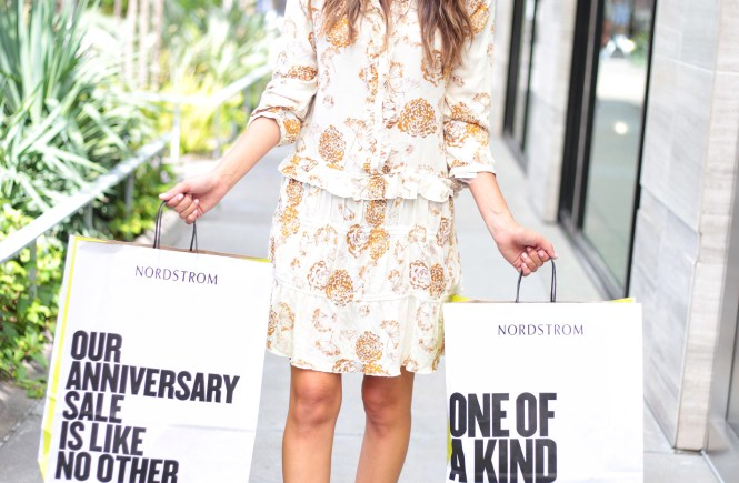 Style The Girl Long Sleeve Floral Pattern Dress