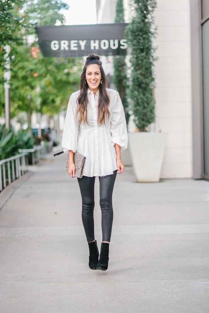 Style The Girl Faux Leather Leggings