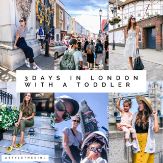 3 days in london with a toddler