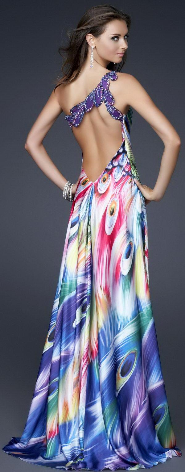 14 rainbow colored dress designs - 30 Gorgeous Rainbow Colored Dress Designs