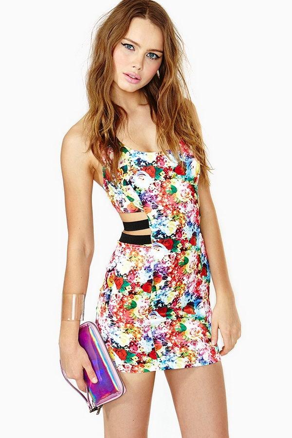 20 rainbow colored dress designs - 30 Gorgeous Rainbow Colored Dress Designs
