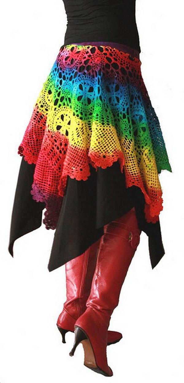 24 rainbow colored dress designs - 30 Gorgeous Rainbow Colored Dress Designs