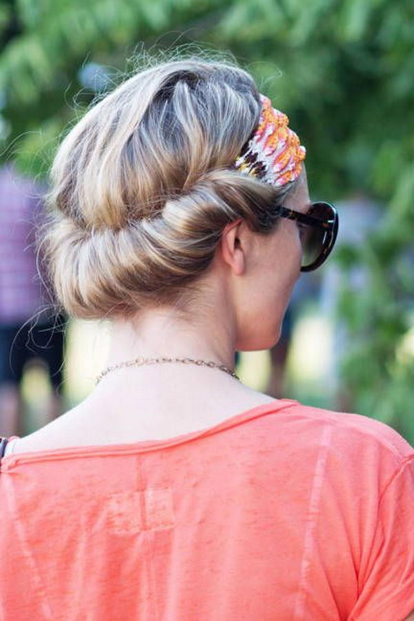 11 cool hairstyles with headbands for girls - 25 Cool Hairstyles with Headbands for Girls