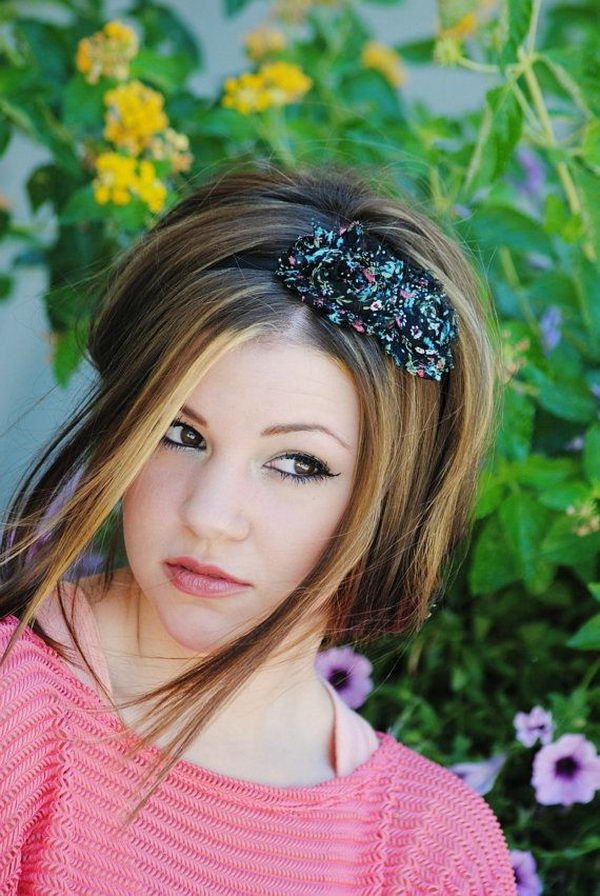 14 cool hairstyles with headbands for girls - 25 Cool Hairstyles with Headbands for Girls