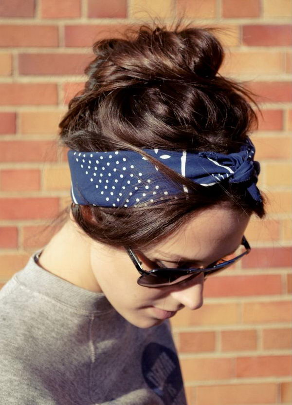 9 cool hairstyles with headbands for girls - 25 Cool Hairstyles with Headbands for Girls