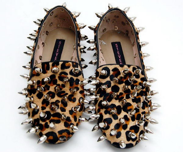 4 pimped steve madden loafers - 10 Creative Leopard Print Shoes Ideas