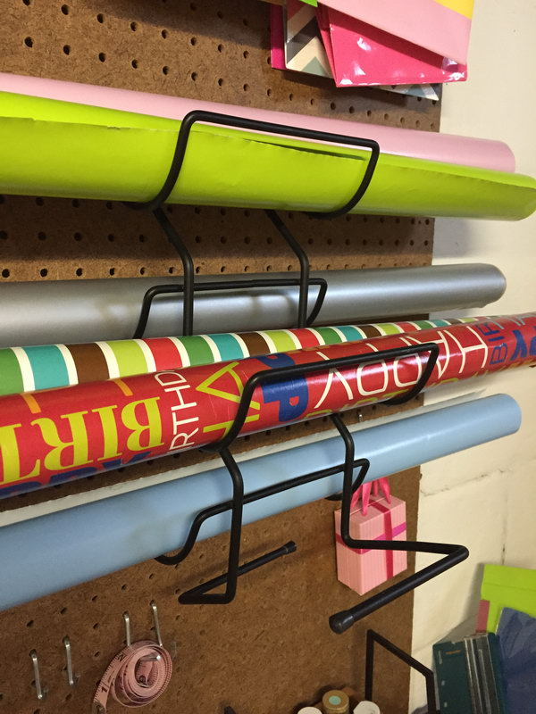 10 wrapping paper storage - Creative Wrapping Paper Storage Ideas