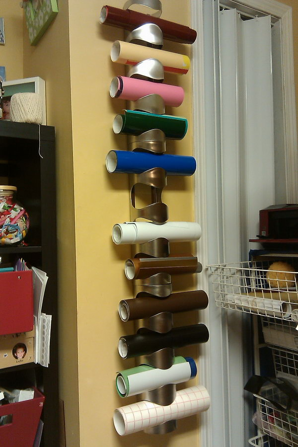 14 wrapping paper storage - Creative Wrapping Paper Storage Ideas