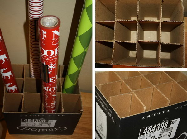 22 wrapping paper storage - Creative Wrapping Paper Storage Ideas