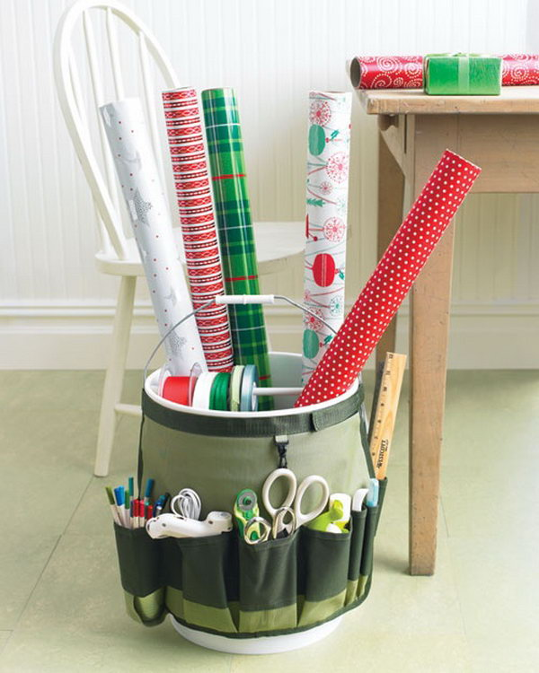 8 wrapping paper storage - Creative Wrapping Paper Storage Ideas