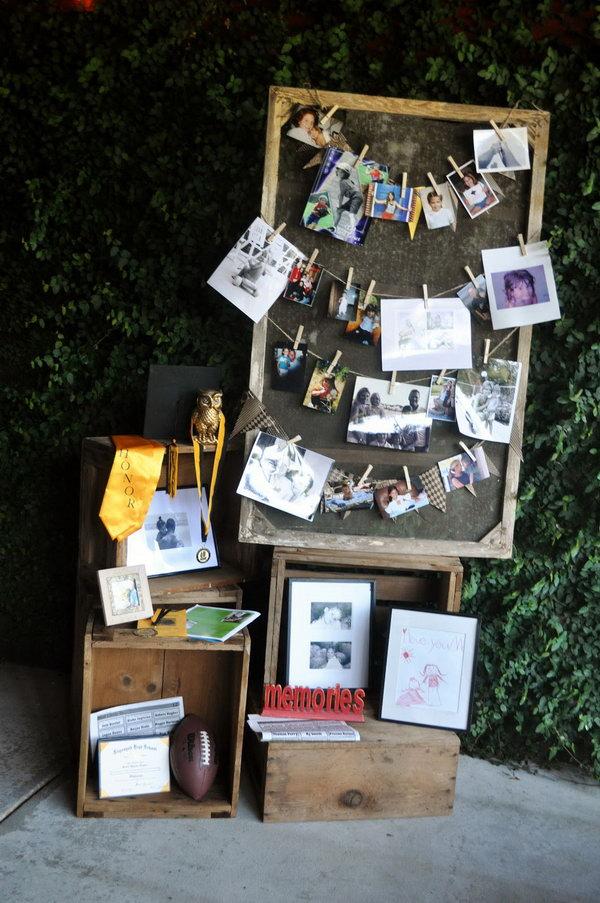 10 graduation party decoration ideas - 25 DIY Graduation Party Decoration Ideas