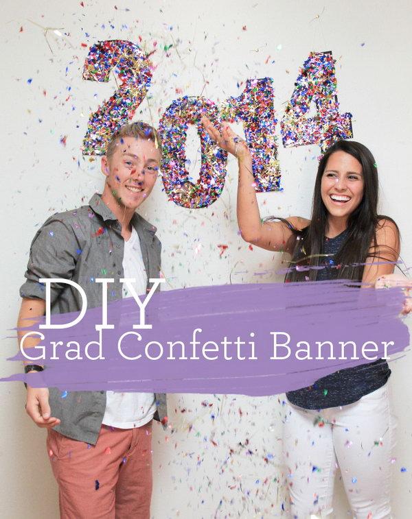 6 graduation party decoration ideas - 25 DIY Graduation Party Decoration Ideas