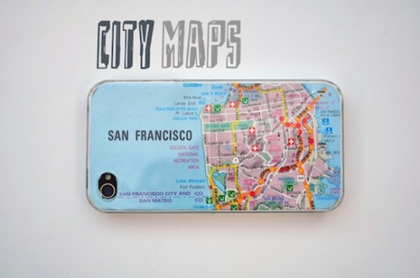 11 diy map projects - 25 Creative DIY Map Projects