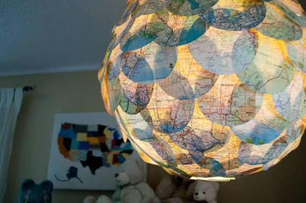21 diy map projects - 25 Creative DIY Map Projects